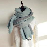 Пряжка для ногтей имитация кашемира длинный шарф двусторонний маленький ананас зимний шарф шерстяная пряжа утолщаются корейский стиль S01