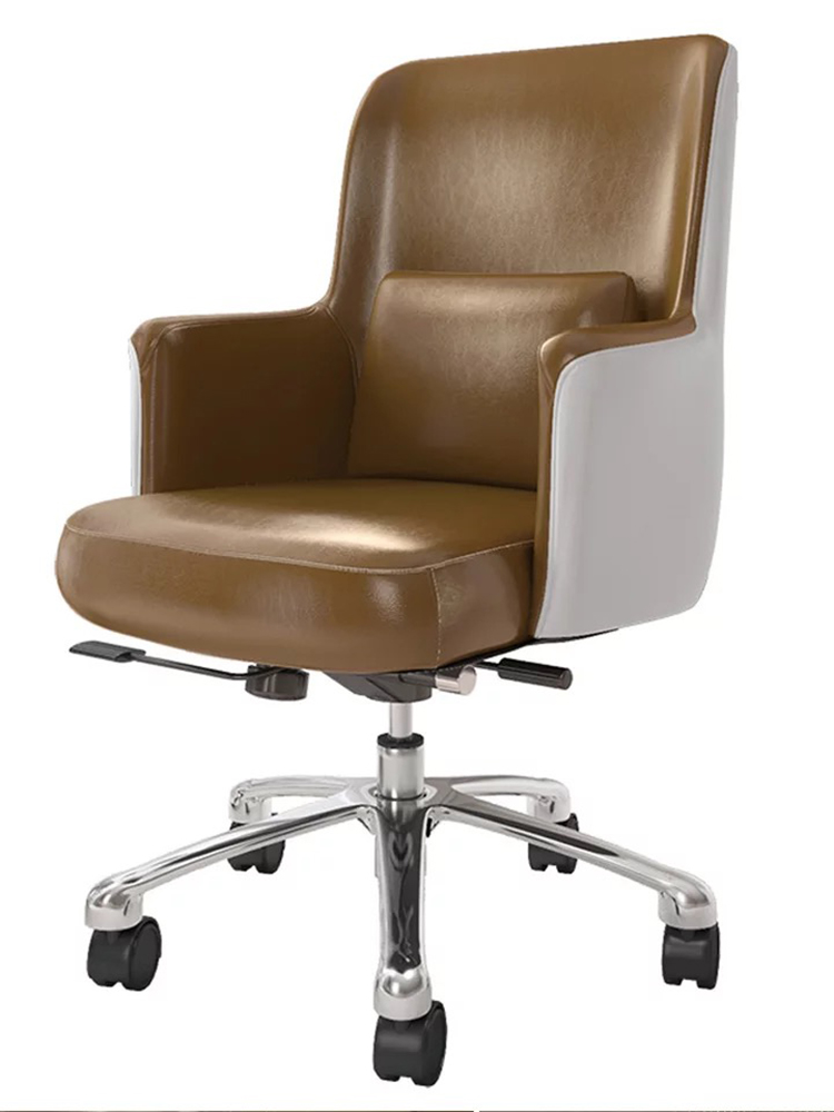 Modern Minimalist Computer Chair Home Study Chair Nordic Office Chair Lift Rotary Swivel Chair Reclining Boss Seat