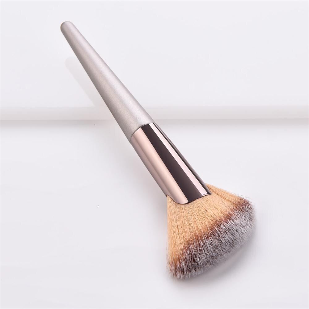 Кисти для макияжа, Высококачественная Кисть для макияжа для пудры, тональной основы, косметический набор кистей для бровей и теней