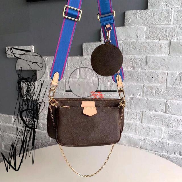 senior designer high quality leather diagonal bag popular brand diagonal bag