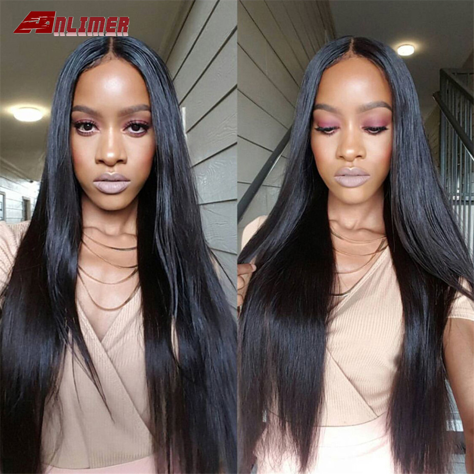 Straight Lace Front Wig Remy Lace Frontal Wig 13X4 Malaysian 150% Density Straight Lace Front Human Hair Wigs