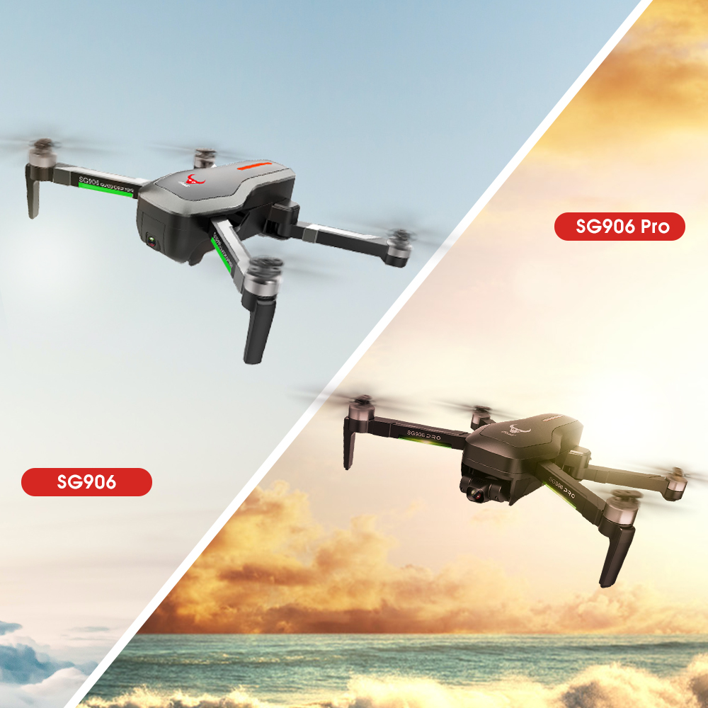 Ultimate SaleQuadcopter Gimbal 2-Axis FPV Dron Wifi Self-Stabilizing 4k Camera Sg906/sg906 PRO GPS