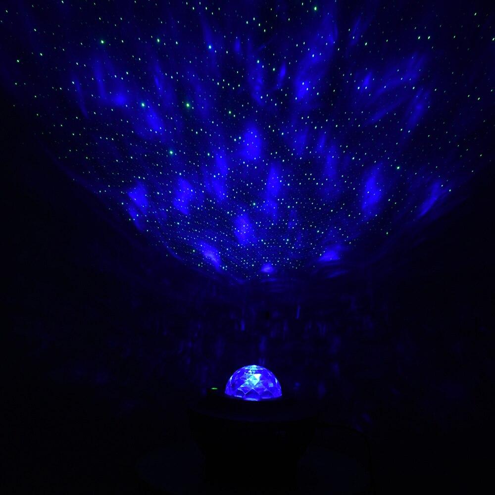 música, galaxy colorido, onda de água, led,