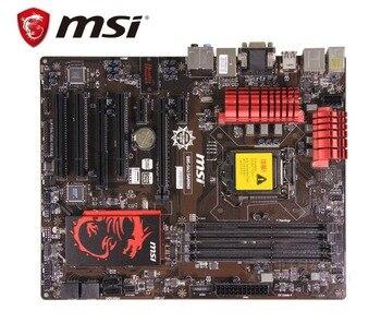 MSI B85-G43 GAMING  original mainboard DDR3 LGA 1150 USB2.0 USB3.0 DVI HDMI VGA 32GB B85 used Desktop motherboard 2016 manufacturer desktop mainboard h81 lga1150 ddr3 gaming motherboard with pcie16x port