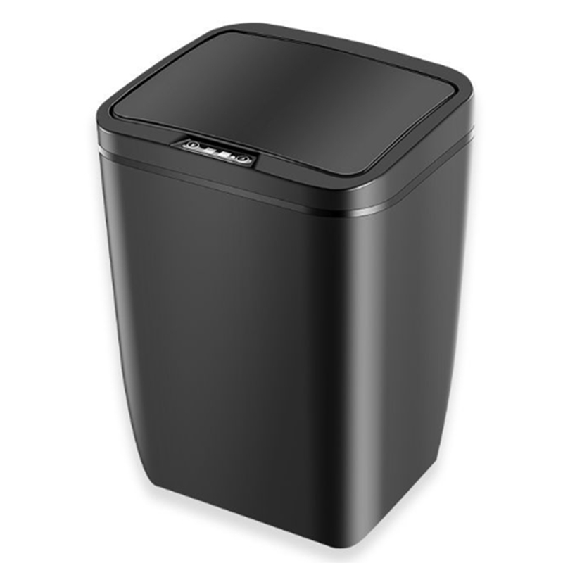 Intelligent Induction Automatic Trash Home Living Room Bedroom Kitchen Bathroom Electric With Cover Mute Smart Home With Battery|Waste Bins| |  - title=