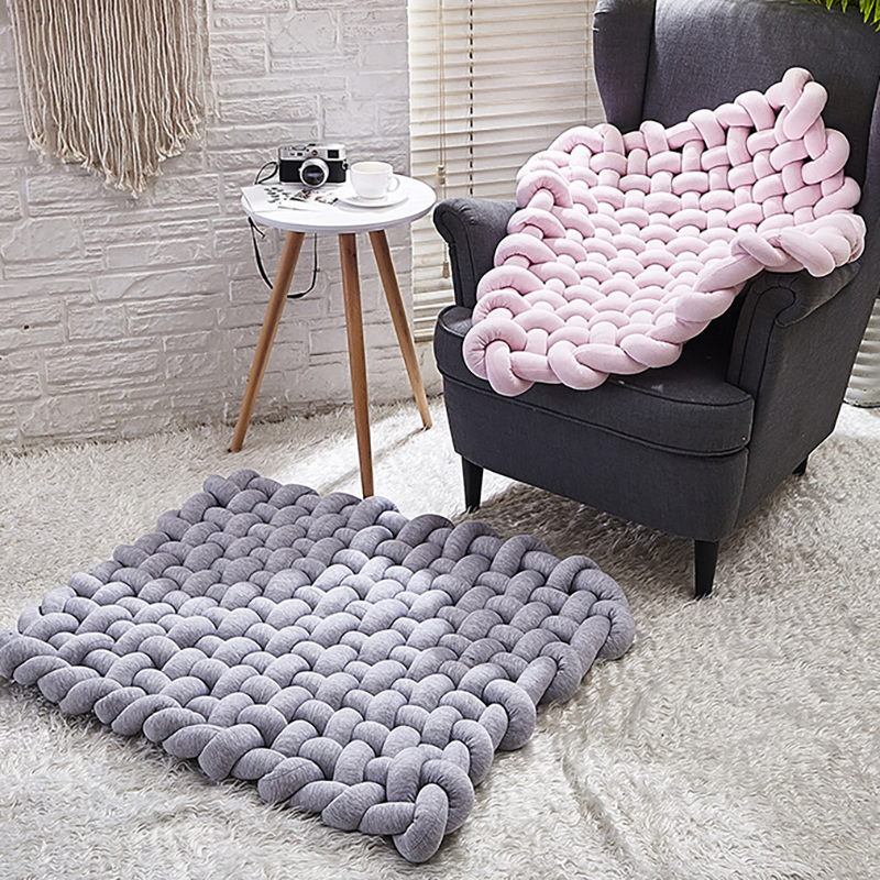 Kids Rug Baby Play Mat Toddler Rug Activity Crawling Carpet Developing Weaving Children Room Accessories YZL004
