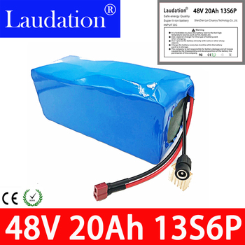 48V 20Ah 48v li ion battery pack Electric car battery 18650bms rechargeable battery pack  built-in 30A BMS For electric bicycles