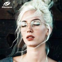 DIGUYAO – lunettes rondes Anti-lumière bleue pour ordinateur, verres optiques, protection UV, filtre de jeu