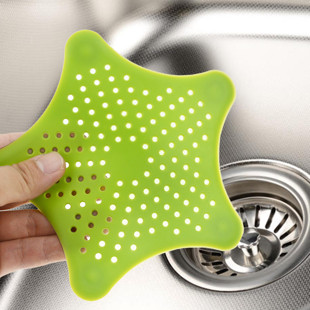 1Pc Kitchen Drains Sink Strainers Filter Sewer Drain Hair Colander Bathroom Cleaning Tool Kitchen Sink Accessories Gadgets