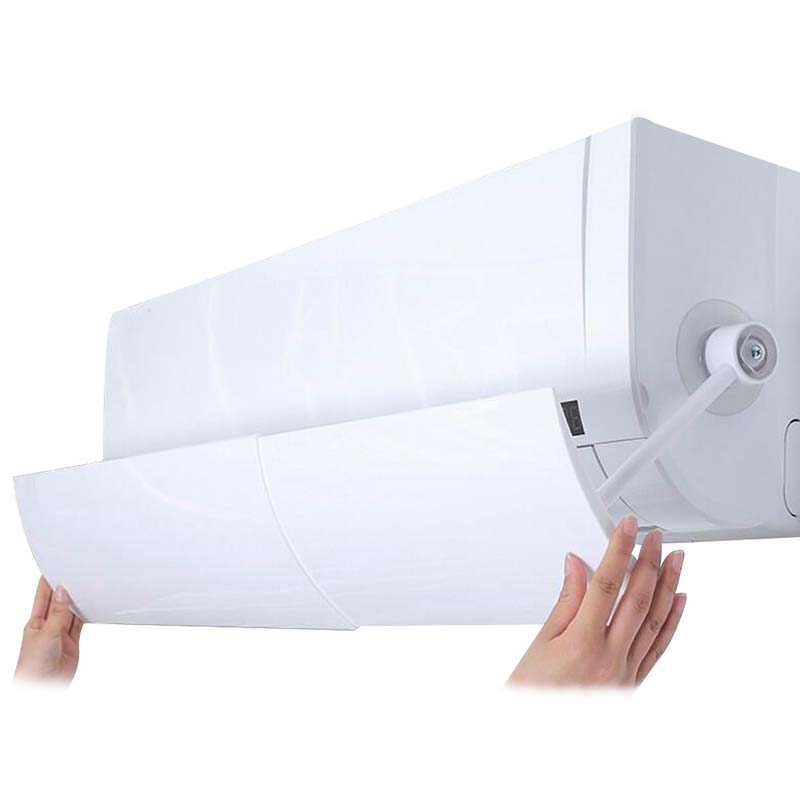 Anti-direct Retractable Air Conditioning Air Conditioner Cover Exhaust Fan Wind Deflector Deflector Exhaust Fan Accessories