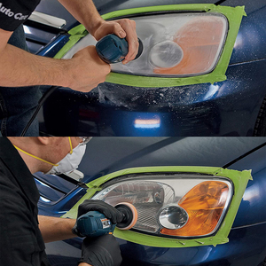 Image 3 - Car Headlight Polisher Restorer Polish For Headlights Restoration Kit Washer Chemical Polishing Kit Wax For Auto Headlamps