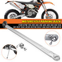 Motorcycle Parking Rack Side Kick Stand Kickstand For KTM For HUSABERG For HUSQVARNA 150 250 300 350 400 450 500 505 530 XC XCF