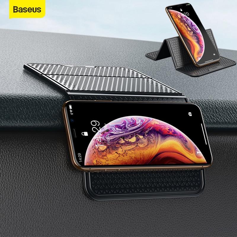 Baseus Car Phone Holder Universal Multifunction Nano Rubber Pad Car Mount Phone Support Non-slip Mobile Phone Wall Desk Sticker