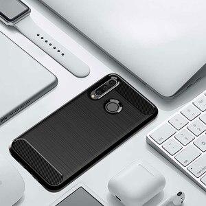 Image 5 - ZOKTEEC étui pour Huawei P30 Lite de haute qualité étui en Silicone TPU en Fiber de carbone souple en Silicone pour Huawei P30 Lite Pro étui de protection