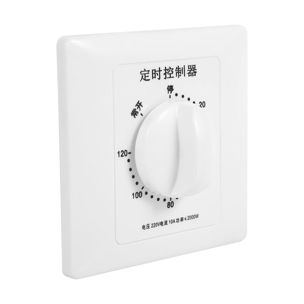 Interruptor de Temporizador Inteligente Minutos Bomba de Agua Mec/ánica Temporizador de Temporizador de Cuenta Regresiva Multifunci/ón Para Controlar La Bomba de Agua 15 minutes