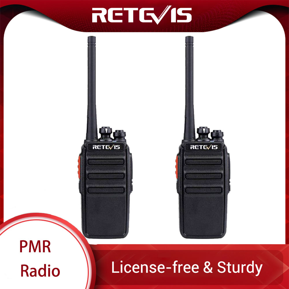 2pcs Retevis RT24 PMR Radio Walkie Talkie 0.5W UHF PMR446 PMR 446 VOX Handy Two-way Radio Portable Transceiver Radio Comunicador