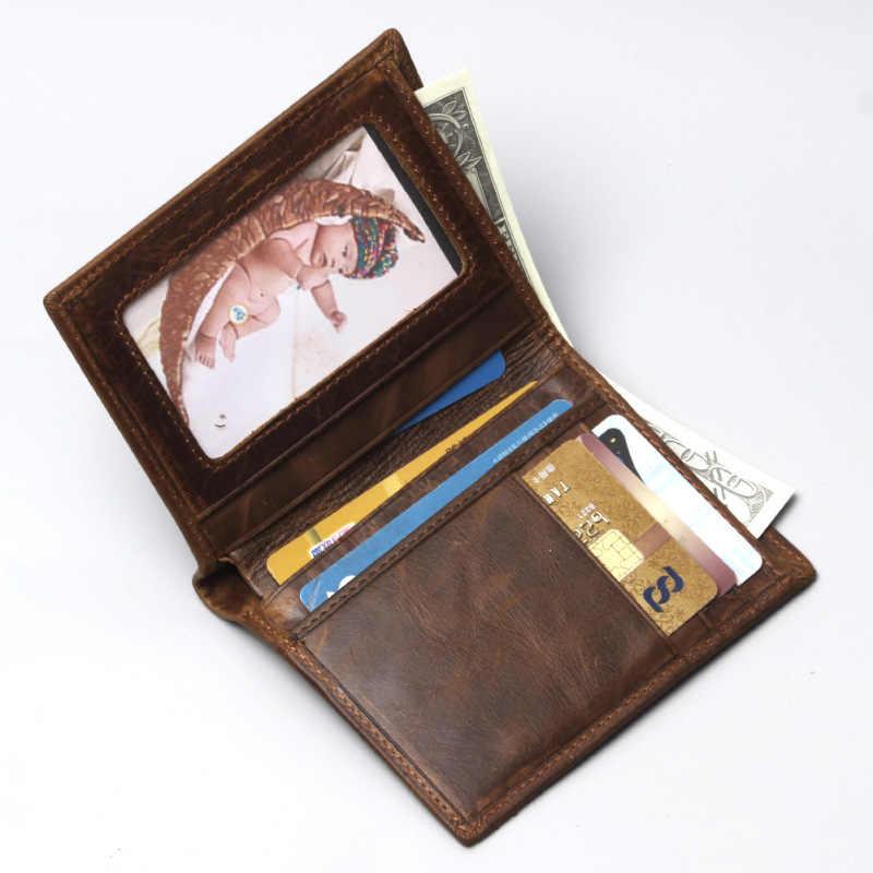 ขายร้อน Luxury วัวคุณภาพหนังแฟชั่นดีไซน์มังกร Emboss ง่ายมาตรฐานยี่ห้อกระเป๋าสตางค์ Handy กระเป๋าถือผู้ชาย