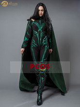 Hot~Ready to Ship New Thor:Ragnarok The Goddess of Death Hela Cosplay Costume and Shoes (Version B)mp003792