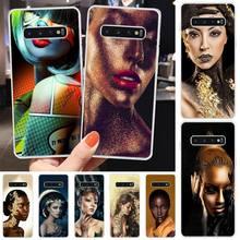 Wumeiyuan Makeup Art TPU Soft Silicone Phone Case Cover For Samsung S6 S7 S7 edge S8 S8 Plus S9 S9 Plus S10 S10 plus S10 E(lite) medicine nurse doctor dentist soft edge phone cases for samsung s6 edge plus s7 edge s8 s9 s10 plus lite e note8 note9 cover