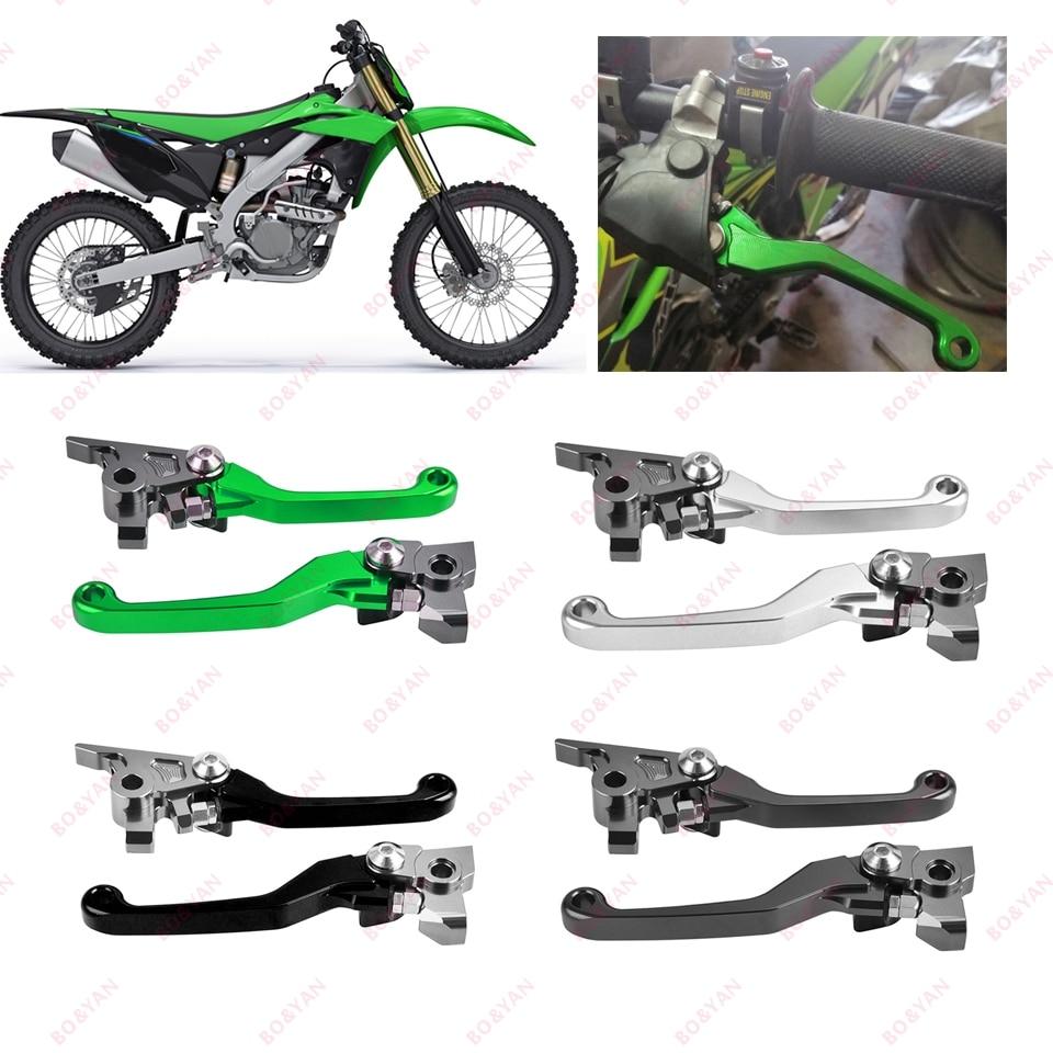 Для Kawasaki KX250 KX250F KX450F KX 250 250F 450F kx250f kx450f 2013-2018 Мотоцикл CNC Dirt Bike тормозной рычаг сцепления
