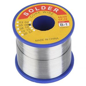 400g Premium Soldering Wire 60/40 2% Flux Tin Lead 0.6/0.8/1mm 210℃ Tin Wire Melt Rosin Core Soldering Wire Reel For PCB Welding
