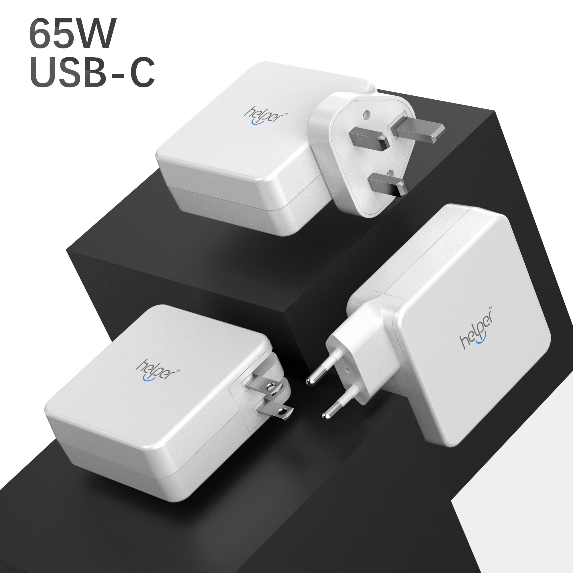 Helper 29W USB Type C Wall Charger Fast Charging Power Adapter for new MacBook HUAWEI MateBook Lumia 950 950XL Nexus 5X 6P