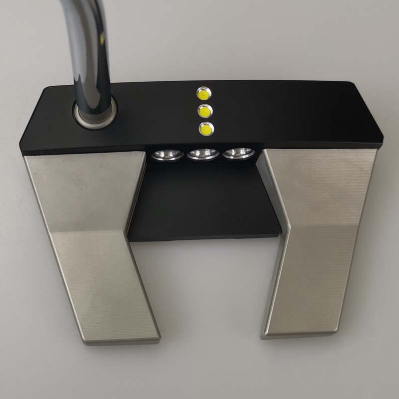 5.5x Golf Putter Putters Shaft Length 32 33 34 35 36 Inch Steel Shaft With Head Cover Free Shipping