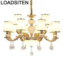 Pendant Light Industriele Crystal Hanglampen Voor Eetkamer Suspension Luminaire Deco Maison Lampen Modern Hanging Lamp