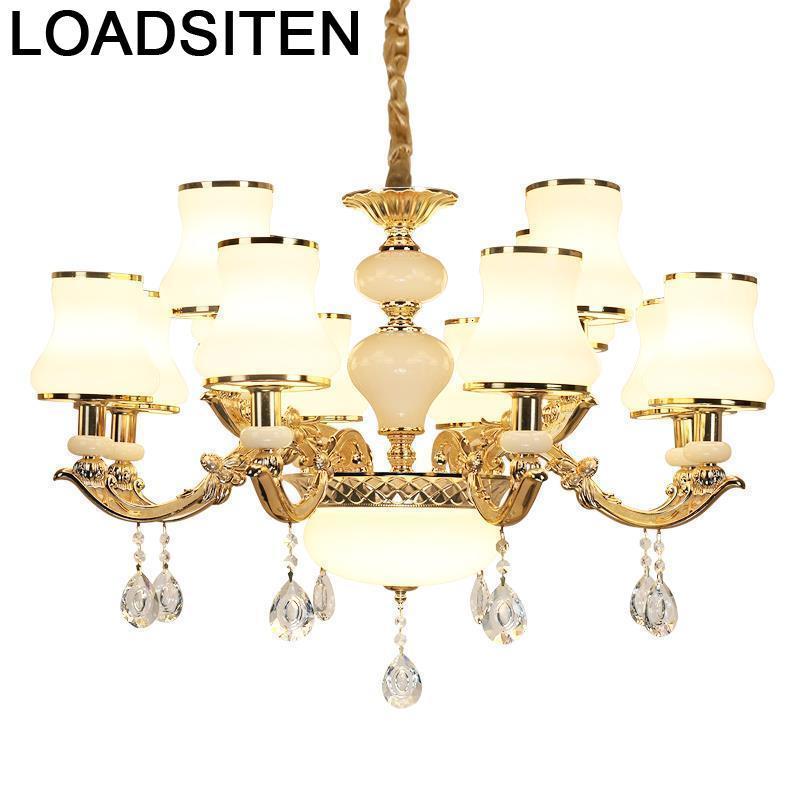 moderne design crystal touw luminaria lampen modern lampara de techo colgante moderna luminaire suspendu hanging lamp