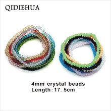 Simple Crystal Bracelet Handmade Beaded Bracelets 15 Colors For Women Exquisite Beads Fashion