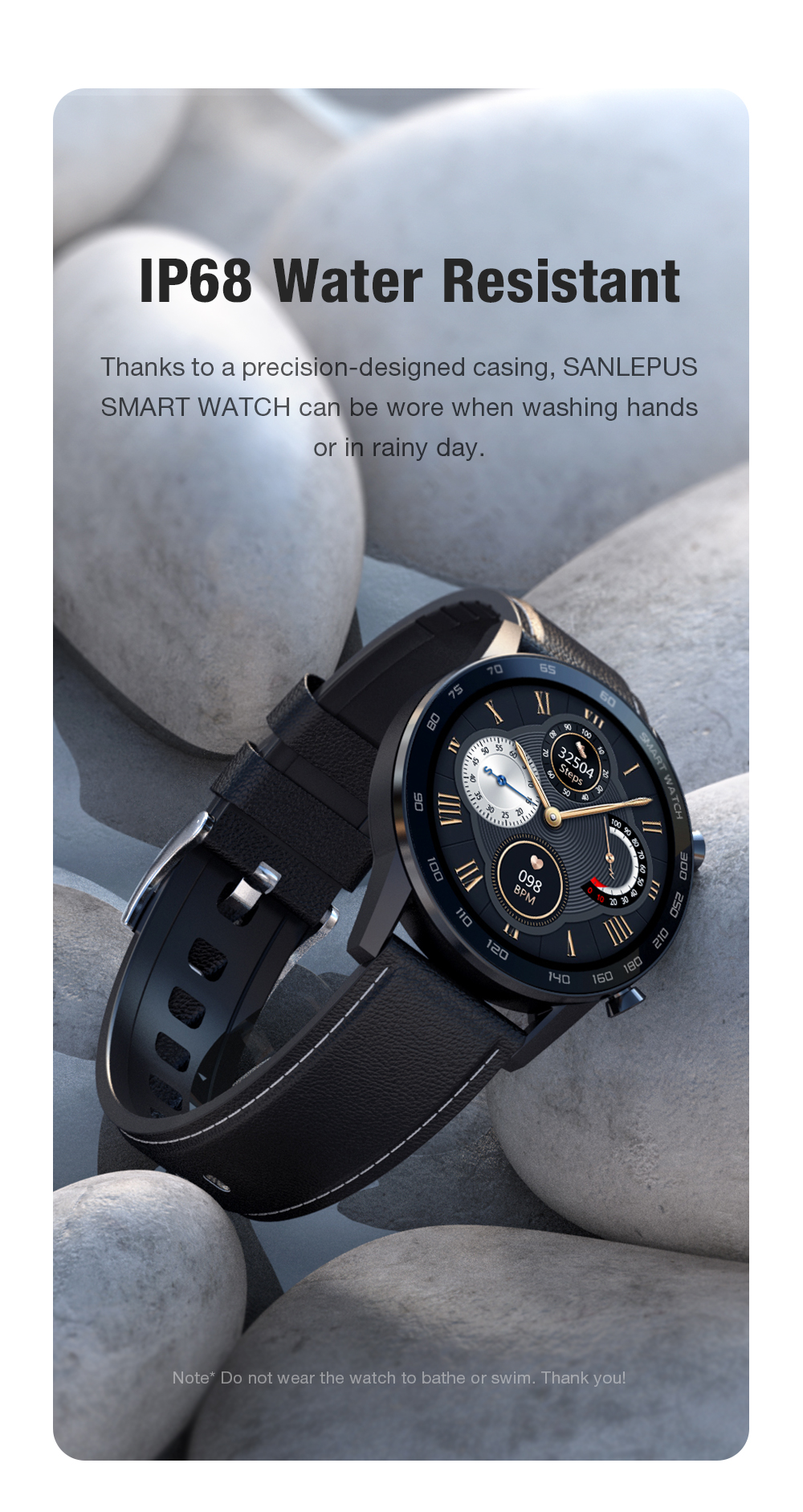 H7babf814fd0b4296936d52f21a451c21k 2021 SANLEPUS ECG Smart Watch Dial Call Smartwatch Men Sport Fitness Bracelet Clock Watches For Android Apple Xiaomi