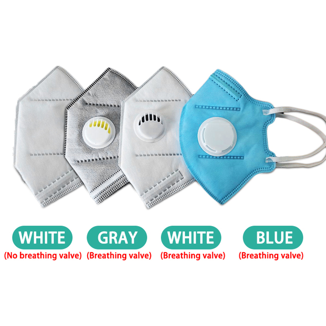 10/20/50pcs KN95 Mask 5 Layers Anti Flu Anti Infection N95 Masks Respirator PM2.5 Protective Safety Same As KF94 FFP3 1