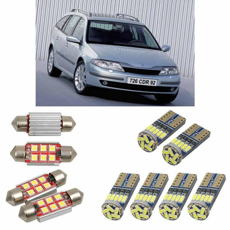 Interior Led Car Lights For Renault Laguna 2 Sport Tourer Kg01 Estate Car Accessories Boot Light License Plate Light 12pc Signal Lamp Aliexpress