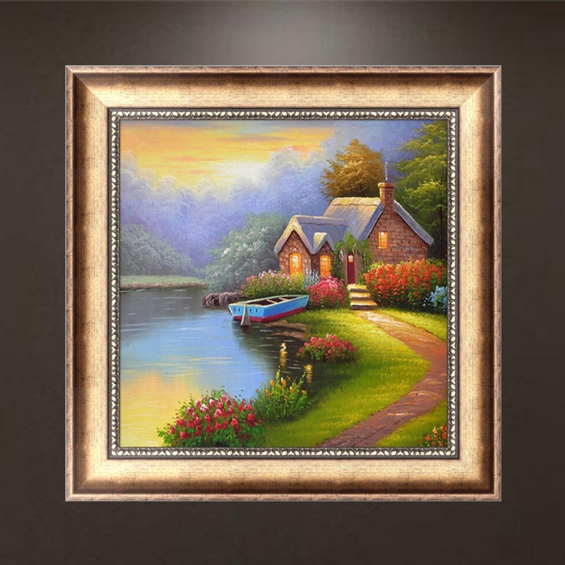 Lanscape 5D DIY Full Diamond Painting Embroidery Craft Cross Stitch Home Decor