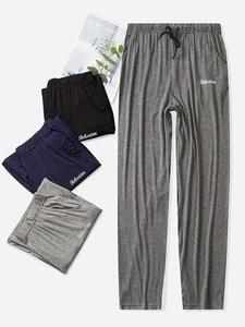 NANJIREN Sleepwear-Pants Trousers Pajama Bottoms Modal Male Hot-Sale Summer Casual Home