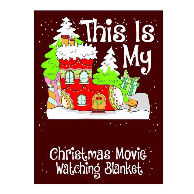 Couverture de film de noël This is My Mark | Cadeau humoristique de Festival, 150x13 0cm/ 200x150cm GQ999