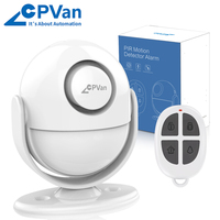CPVAN датчик движения Motion Sensor alarm system with motion sensor alarm for Home Security alarm infrared motion detector