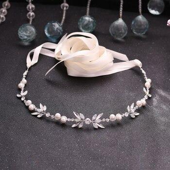 цена на TRiXY SH132 Crystal Wedding Sash Silver Belt Wedding Belts with Rhinestones Crystal Wedding Dress Accessories Opal Diamond Belts