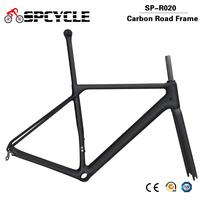 Spcycle Full Carbon Road Bike Frame Ultralight T1000 Carbon Racing Bicycle Frame 2020 New Road Frame BB86 Only 960g