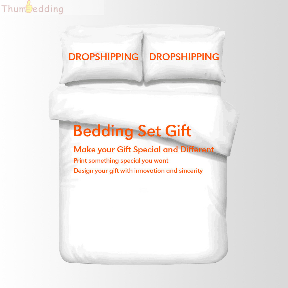 Dropshipping Customize Duvet Cover for Gift with Innovation Sincerity Special Bedding Set for Friends Kids
