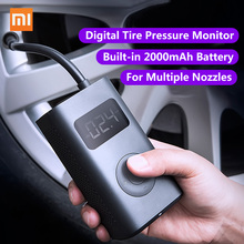 Xiaomi Mijia Inflator Portable Smart Digital Tire Pressure Sensor Electric Pump for Motorcycle Motorcycle Car Soccer