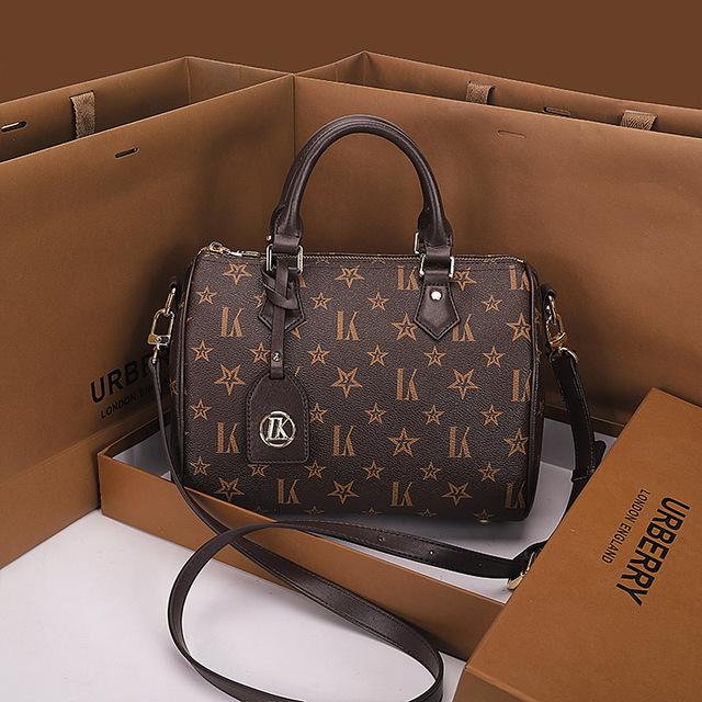 Leather Top Handle Designer Tote  5