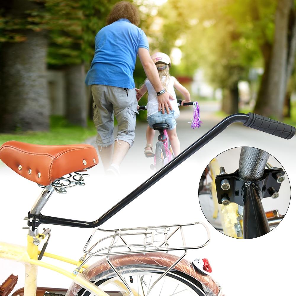 SFIT 2019 Bike Push Handle Bike Trainer Training Children Cycling Bike Safety Pole Control Kids Learning Cycling Accessory