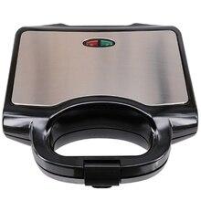 Многофункциональный Электрический мини-сэндвич-мейкер гриль Panini плита тостер стейк гамбургер машина для завтрака барбекю печь ЕС