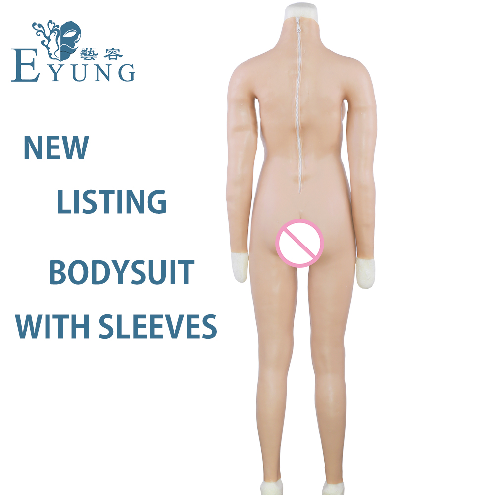 Eyung C Cup Breast Plate Silicone Breast Forms Realistic Boobs And Pussy Buttocks Pad Vagina Bodysuit Doll for Men Crossdresser in Sex Dolls from Beauty Health