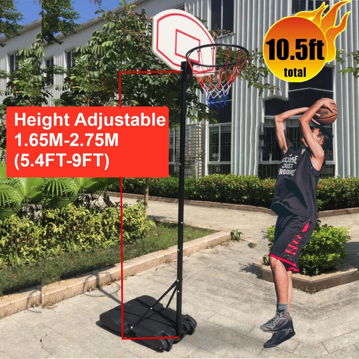 Профессиональные взрослых для детей для ношения в помещении, мобильный баскетбольный стенд обруча Спорт на открытом воздухе Регулируемая ...