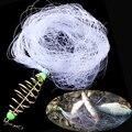 Медь Весна рыболовная сеть для мелководья с ночным со светящейся бусиной шариковый подшипник твердых серебряное кольцо рыболовные разъем ...