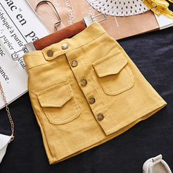 Menoea Summer Girl Clothes Baby Girl Demin Pants Clothes Children Buttons Pocket Clothes Kid Cowboy Shorts 3-7Y