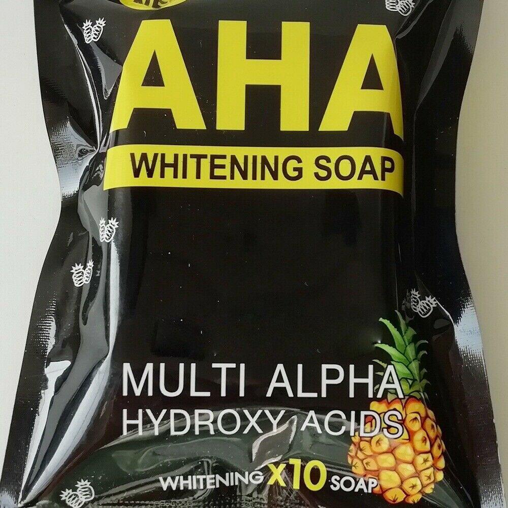 AHA BODY BOOSTER SOAP Whitening Skin Body Lightening Bleaching Dark Spot Soap