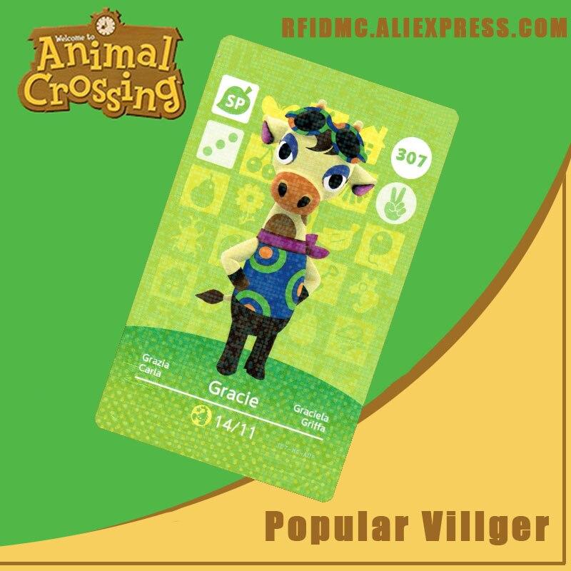 307 Gracie Animal Crossing Card Amiibo For New Horizons